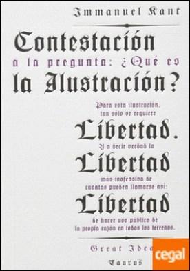 CONTESTACIÓN A LA PREGUNTA: ¿QUÉ ES LA ILUSTRACIÓN?