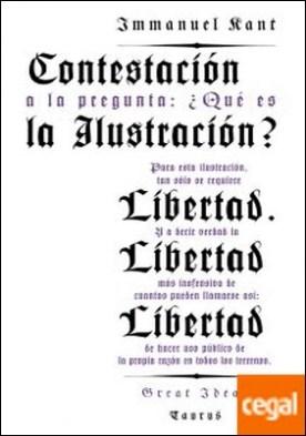 Contestación a la pregunta: ¿Qué es la ilustración? (Serie Great Ideas 8)