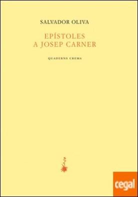 Epístolesl a Josep Carner