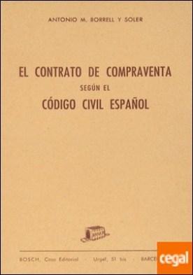El Contrato de compraventa según el Código civil español
