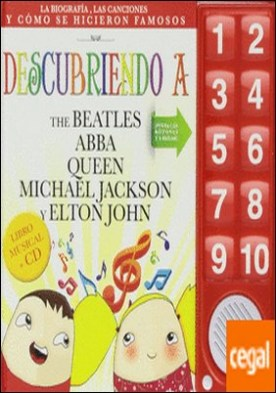 Descubriendo a... The Beatles, Abba, Queen. Michael Jackson y Elton John. Libro . libro musical +CD
