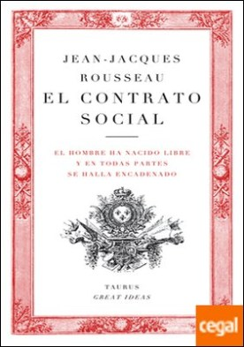 El contrato social (Serie Great Ideas 11)