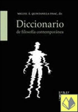 Diccionario de filosofía contemporánea