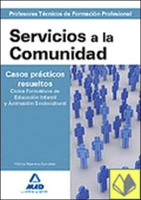 Cuerpo de profesores técnicos de formación profesional. Servicios a la comunidad . Prefesores Técnicos de Formación Profesional