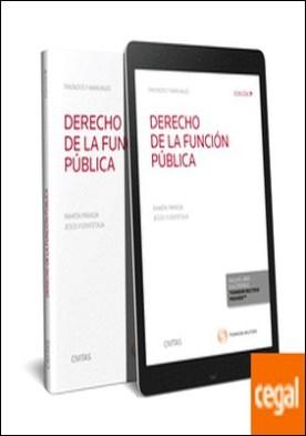 Derecho de la función pública (Papel + e-book)
