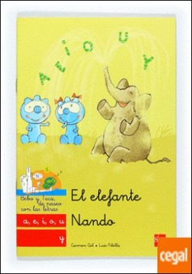 El elefante Nando: a, e, i, o, u, y