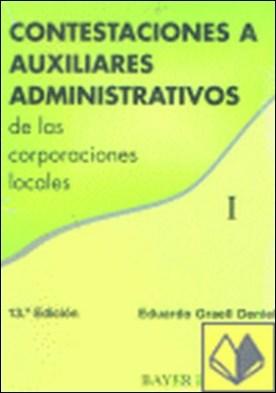 Contestaciones a Auxiliares Administrativos de las Corporaciones Locales