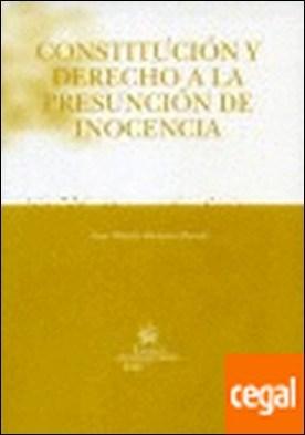Constitución y Derecho a la presunción de inocencia