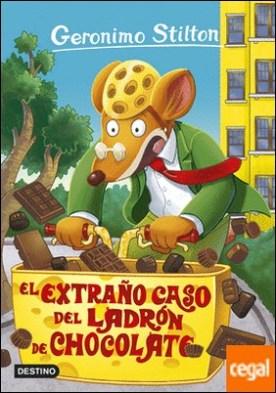 El extraño caso del ladrón de chocolate . Geronimo Stilton 69