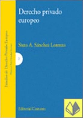 Derecho privado europeo