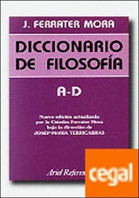 Diccionario de filosofía, vol. 1: A-D