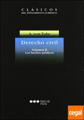 Derecho civil . los hechos jurídicos
