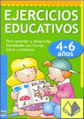 Ejercicios educativos de 4 a 6 años por EQUIPO EDITORIAL CARAMEL EDICI PDF
