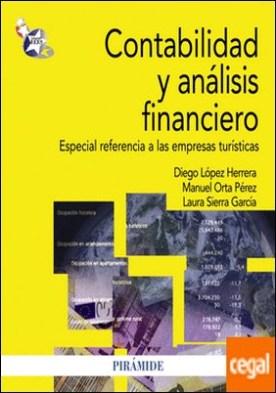 Contabilidad y análisis financiero . Especial referencia a las empresas turísticas