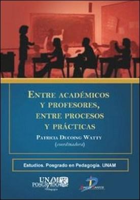 Entre académcios y profesores, entre procesos y prácticas