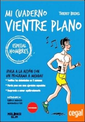 Cuaderno ejercicios: vientre plano hombre . Pasa a la accion con un programa a medida