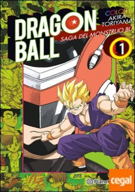Dragon Ball Color Bu nº 01/06 . Saga del mostruo Bu