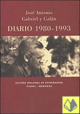 Diario 1980-1993 . invitación a la resistencia