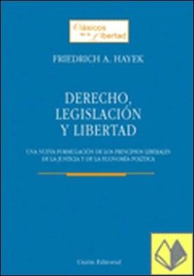 DERECHO, LEGISLACIÓN Y LIBERTAD