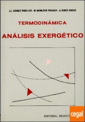 Termodinámica. Análisis exergético