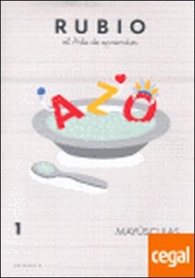 Rubio, el arte de aprender, mayúsculas, Educació Infantil. Quadern 1 por Rubio Polo, Enrique PDF