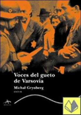 VOCES DEL GUETO DE VARSOVIA