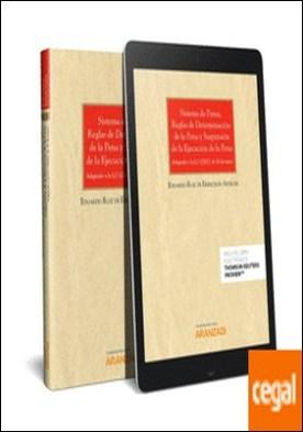 Sistema de penas, reglas de determinación de la pena y suspensión de la ejecución de la pena (Papel + e-book) . Adaptado a la LO 1/2015, de 30 de marzo