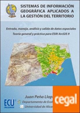 Sistemas de información geográfica aplicados a la gestión del territorio . CD-Rom