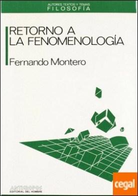 Retorno a la fenomenología