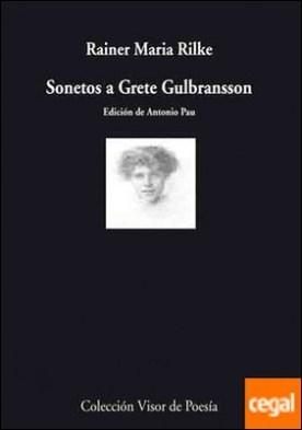 Sonetos a Grete Gulbransson por Rilke, Rainer Maria