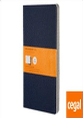 Set de 3 cuadernos Cahier a rayas - Large - Color Azul Marino por VV AA