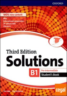 Solutions 3rd Edition Pre-Intermediate. Student's Book