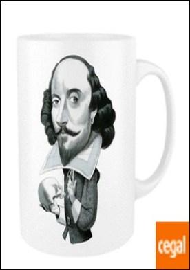 Taza centenario William Shakespeare