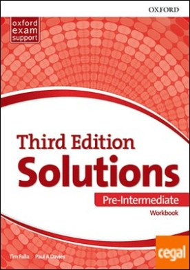 Solutions 3rd Edition Pre-Intermediate. Workbook