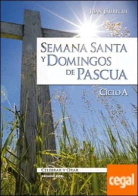 Semana Santa y domingos de Pascua. Ciclo A por Jáuregui Castelo, Juan PDF