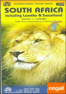 SOUTH AFRICA 1:1.500.000 LESOTHO & SWAZILAND -ITMB