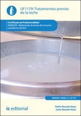 Tratamientos previos de la leche