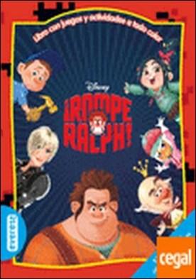 Rompe Ralph. Libro con juegos y actividades a todo color