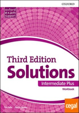 Solutions 3rd Edition Intermediate Plus. Workbook