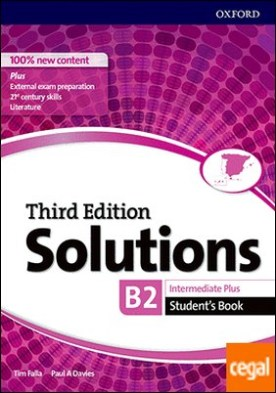 Solutions 3rd Edition Intermediate Plus. Student's Book