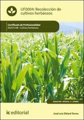 Recolección de cultivos herbáceos