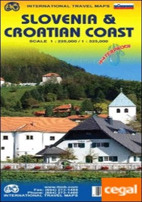 SLOVENIA 1:225.000 & CROATIAN COAST 1:325.000 -ITM