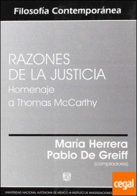 Razones de la Justicia. Homenaje a Thomas McCarthy. por Herrera, Maria PDF