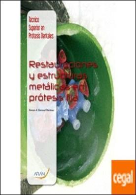Restauraciones y estructuras metálicas en prótesis fija