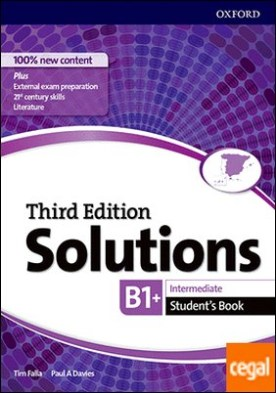 Solutions 3rd Edition Intermediate. Student's Book
