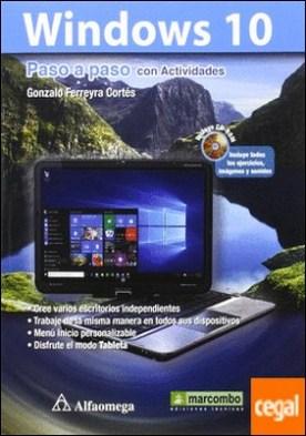 Windows 10 Paso a paso con Actividades