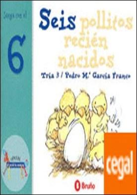 Seis pollitos recién nacidos . Juega con el 6