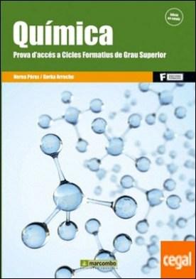 Química. Prova d'accés a Cicles Formatius de Grau Superior