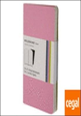 Set de 2 cuadernos Volant a rayas - Extra Small - Color Rosa
