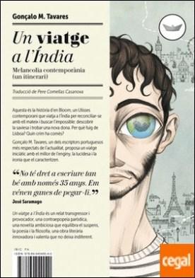 Un viatge a l'Índia . Melancolia contemporània (un itinerari) por Tavares, Gonçalo M. PDF